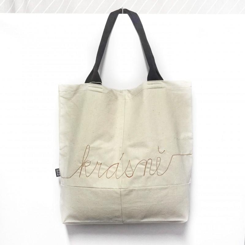 taška NÁKUPka krásně