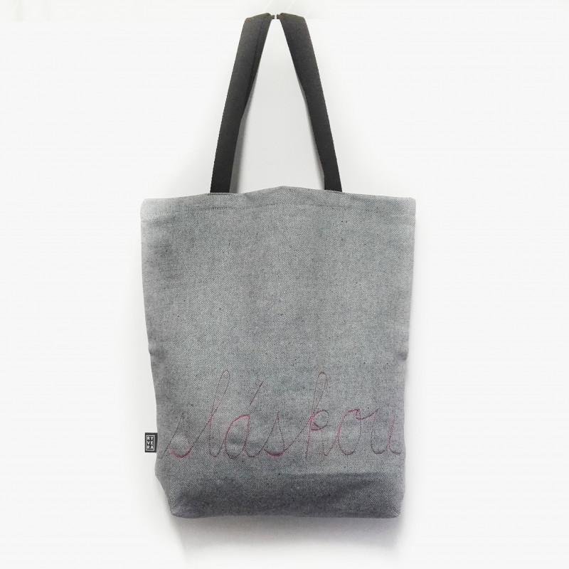 taška NÁKUPka sláskou