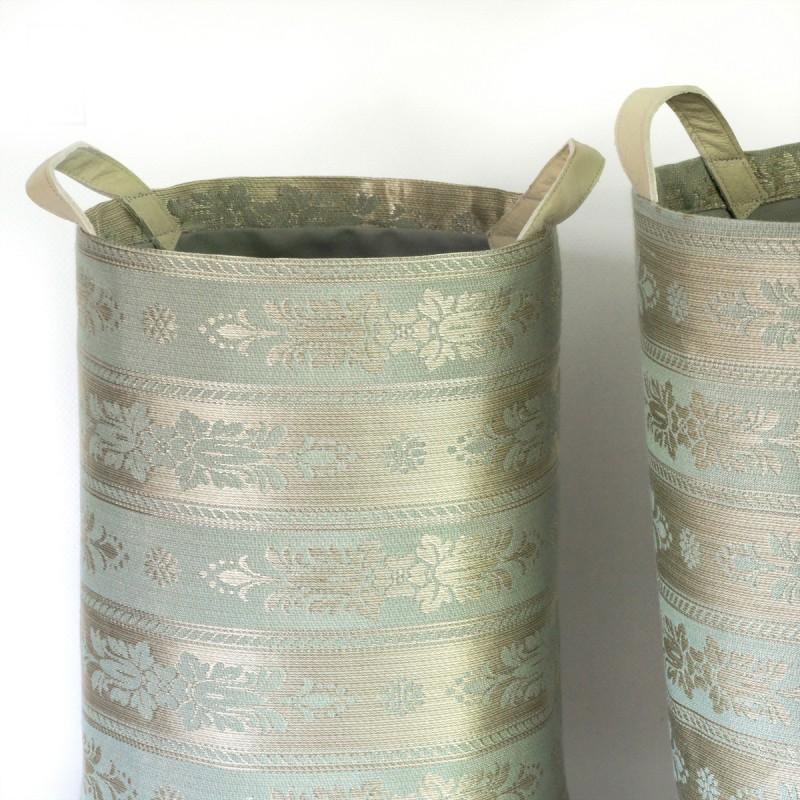 textilní koše Zámecké pruhy