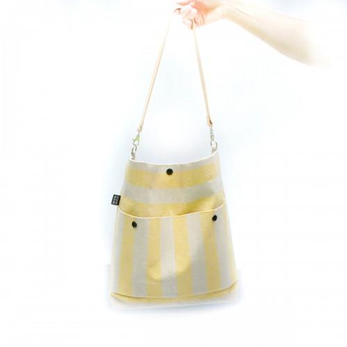 Backpack JenLEN Žluté pruhy....