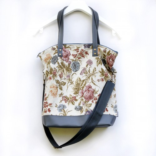 Handbag  NORMALka WhiteFlower....