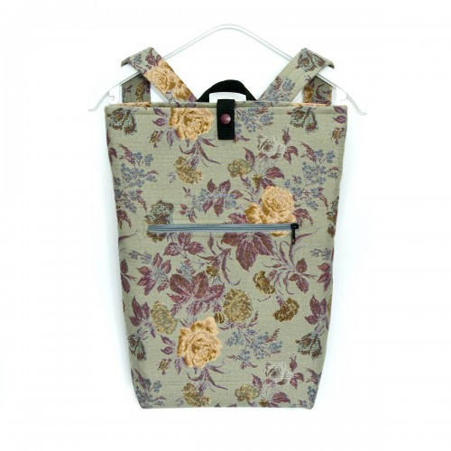 Backpack BoX GreyFlower....